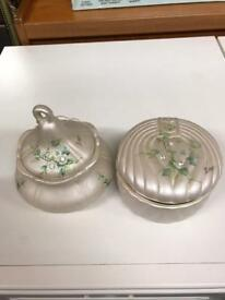 Two little pots