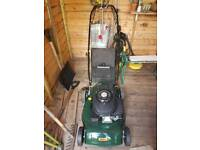 WEBB OHV 400 petrol lawn mower