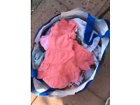 Big bag of over 50 3-12 months girls