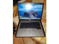 dell latitude 1311 windows 7 80g hard drive 2g memory wifi dvd drive charger battery