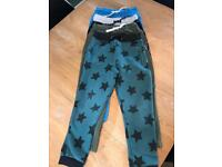 Boys joggers 4 pairs age 5-6 M&S