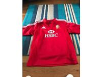 Lions rugby shirt