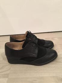 Shoe embassy Black leather Size 5 UK (38 EU) - Worn twice, great condition - Original price £99
