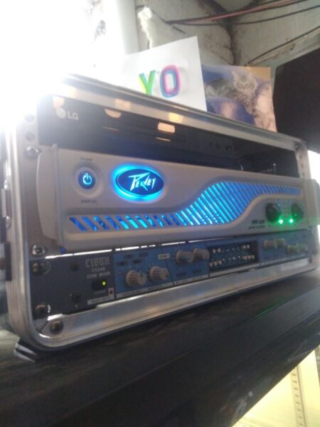 Full Peavey P.A Sound system inc 2 x 1600 watt power amps, used for sale  Manchester City Centre, Piccadilly