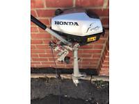 HONDA 2HP OUTBOARD MOTOR SPARES OR REPAIR