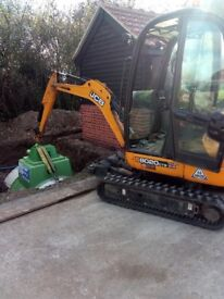 SUPERIOR MINI DIGGERS.. MINI DIGGER AND DRIVER HIRE FROM £225.00 PER DAY ***