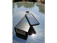 Unlocked Silver Galaxy S8 like new with Crashguard by Rynoshield and Dbrand skin