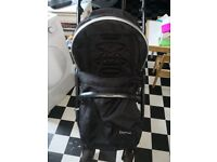Oyster max double buggy. Used but still has lots of life left in it.