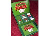 POKER Set - Texas - NEW & BOXED