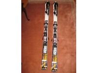Nordica Hot Rod Overdrive Skis 162 cm