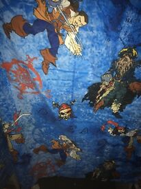 Pirates of the Caribbean curtains 54 drop90 inch width