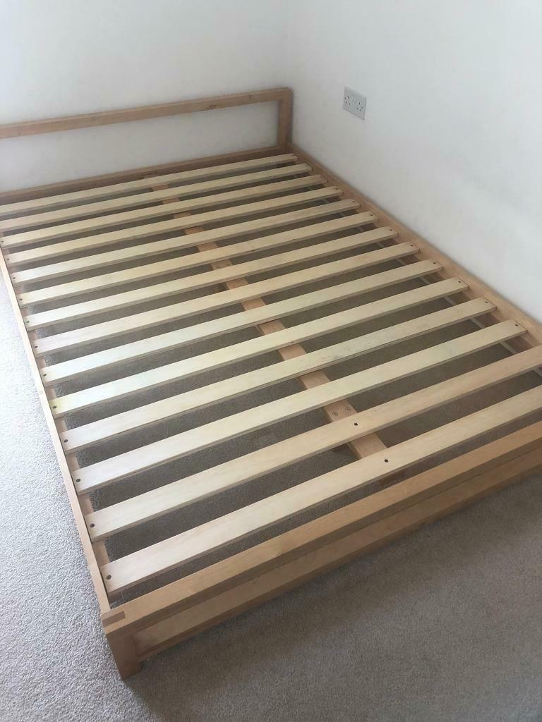 Futon Company Double Bed Frame In