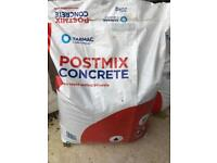 Postmix Concrete (3 bags - 20kg) £5 - Collection Only