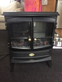 Electric stove heater.