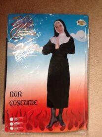 Fancy dress Nun costume size 12-14 new
