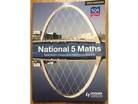National 5 Maths with Answers