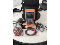 CCTV Tester complete with multimeter Use when intalling your analog cctv cameras