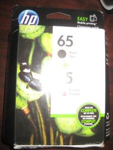 HP 65 Black and Tri Color Original Ink Cartridge for HP DeskJet Printer / Copier. All in One. NEW. Phone: 9057815781