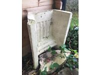 Old stone fire backing/ surround free