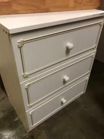 Small Bedroom drawers