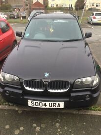 BMW X3 selling for £1,600 it's a steal runs like a dream, 2.5i engine a very good family car
