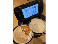 Wii U Black edition 32gb with LOT OF GAMES (Zelda, MarioKart8, Smash Bros & more)