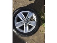 Brand new VW 17inch Highline alloys