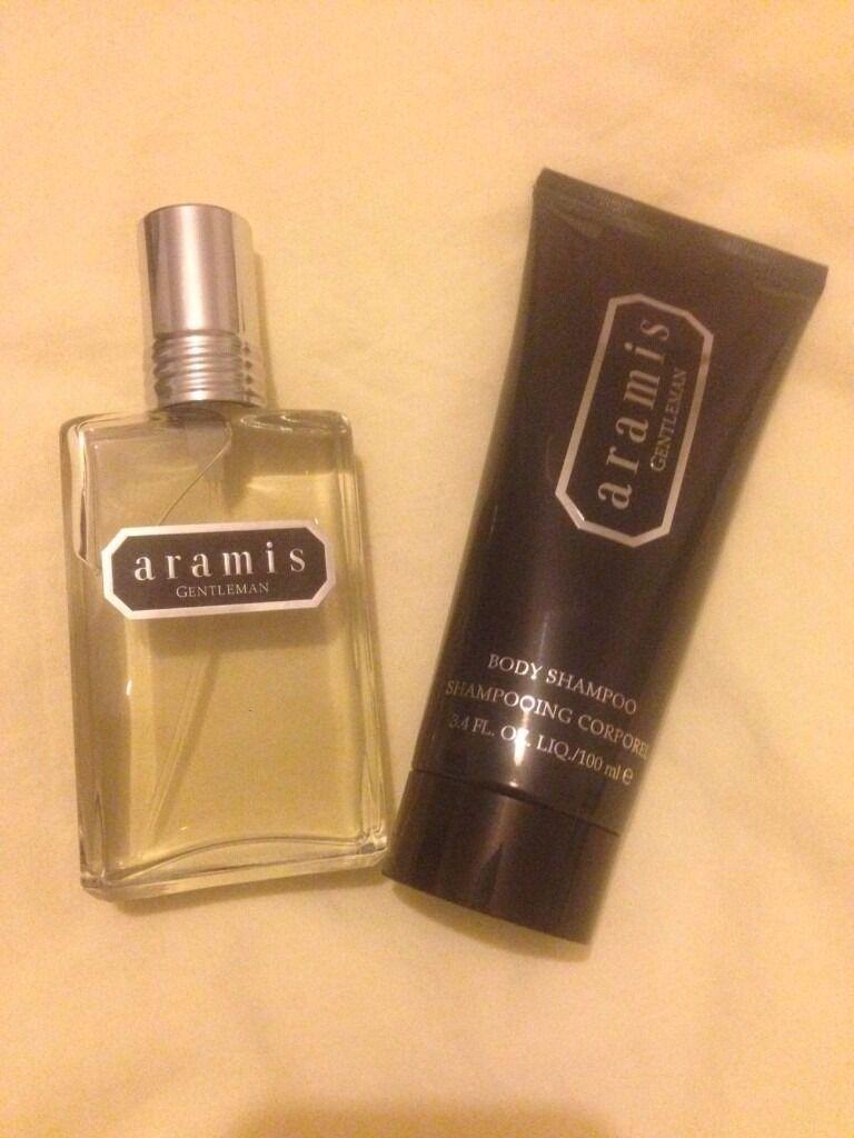Aramis Gentleman Edt Natural Spray Vaporiser 60ml 2oz Body Shampoo Black Oud 2 Pcs 100ml 34oz