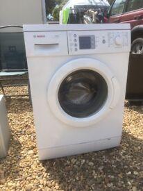 Bosch 1200 excel washing machine