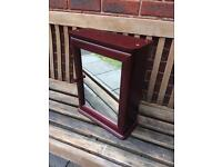Bathroom Cabinet (Mahogany)