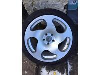 Vw Audi alloy wheels 18 inch