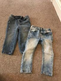 Next boys jeans as new 12-18 pair