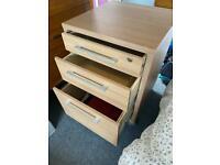 Desk pedestal, drawers