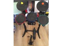 Guitar Hero World Tour Drum Kit with Microphone - Xbox 360 - Great Condition