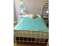 Small Double Edwardian Style Iron/Metal Bed with Kozeesleep Mattress