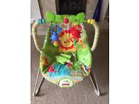 Fisher Price Rainforest baby bouncer SOLD