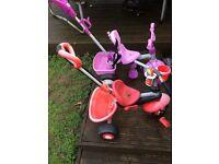 Kids toys-bikes