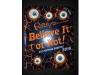 Ripleys Believe it or not book.