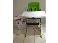 Chicco Jazzy High Chair (From Mothercare)