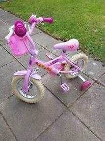 Girls peppa pig bike for ages 3-5