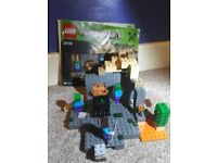 Lego minecraft 21119 The Dungeon set. Fully built