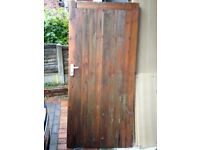 Solid Garden Gate For Sale