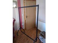 5' Garment Rail