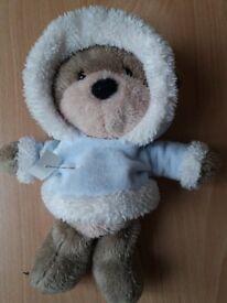 Hugs Bear in pale blue hoody