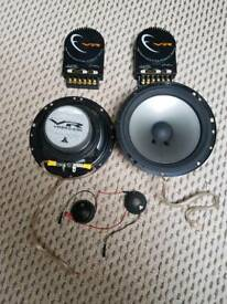 Jl audio vr650-cwi component speakers Very powerfull speakers