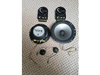 Jl audio vr650-cwi component speakers Very powerfull speakers
