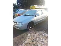 2001 RENAULT MEGANE COUPE 1.4 PETROL BREAKING FOR PARTS