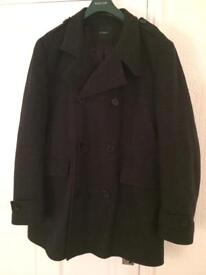 Marks & Spencer Autograph Coat XL Charcoal