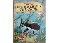 Red Rackham's Treasure (Adventures of Tintin) by Egmont Paperback Book