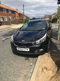 Immaculate KIA Ceed 4 Tech *1.6CRDI*2012*TOP SPEC*13 MONTHS MOT*MANUFACTURERS WARRANTY*LOW MILAGE*